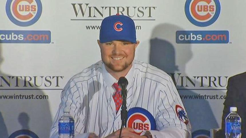 Jon Lester will be a member of the Chicago Cubs in 2015