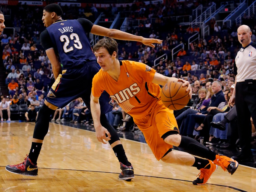 Goran Dragic was one of the many players on the move on deadline day